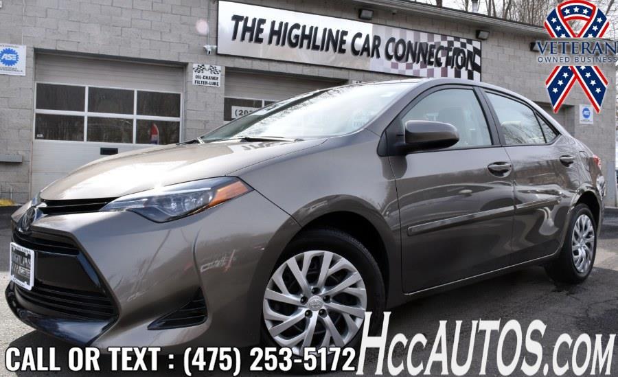 Used 2018 Toyota Corolla in Waterbury, Connecticut | Highline Car Connection. Waterbury, Connecticut