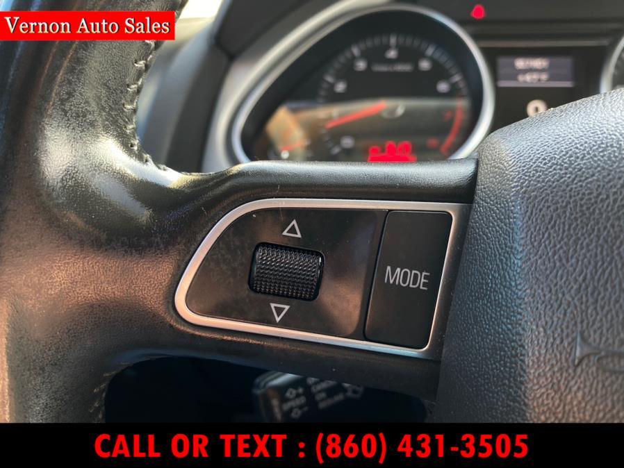 Used Audi Q7 quattro 4dr 3.0T Premium Plus 2011 | Vernon Auto Sale & Service. Manchester, Connecticut
