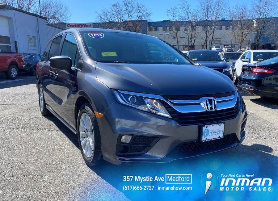 Used Honda Odyssey LX Auto 2020 | Inman Motors Sales. Medford, Massachusetts