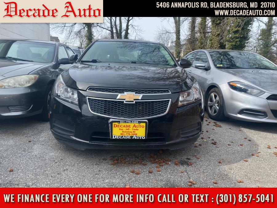 Used 2014 Chevrolet Cruze in Bladensburg, Maryland | Decade Auto. Bladensburg, Maryland