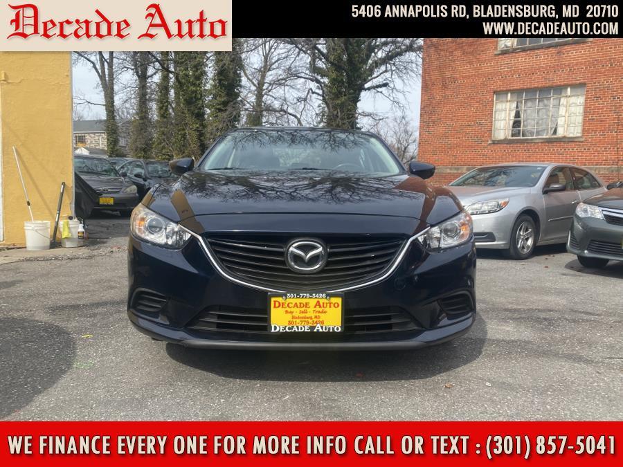 Used 2016 Mazda Mazda6 in Bladensburg, Maryland | Decade Auto. Bladensburg, Maryland