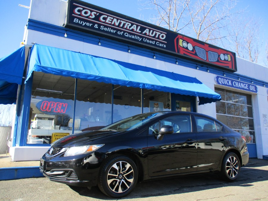 Used Honda Civic Sdn EX 2013 | Cos Central Auto. Meriden, Connecticut