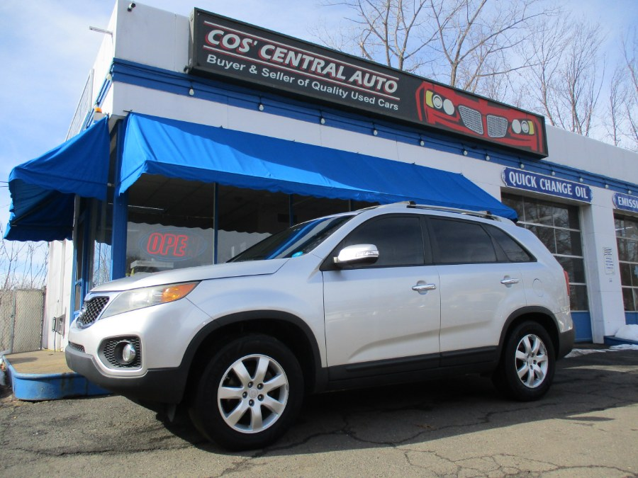 Used Kia Sorento 2WD 4dr I4-GDI LX 2012 | Cos Central Auto. Meriden, Connecticut
