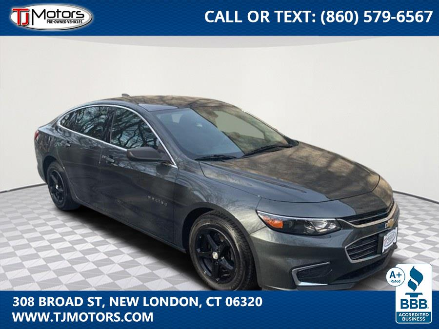 Used 2017 Chevrolet Malibu in New London, Connecticut | TJ Motors. New London, Connecticut