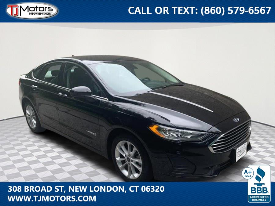 Used 2019 Ford Fusion Hybrid in New London, Connecticut | TJ Motors. New London, Connecticut