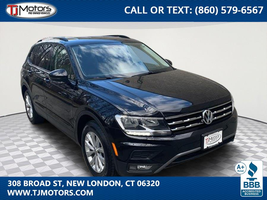 Used 2018 Volkswagen Tiguan in New London, Connecticut | TJ Motors. New London, Connecticut
