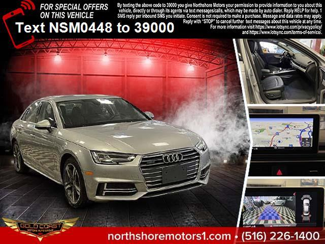 Used Audi A4 2.0 TFSI Tech Premium Plus S Tronic quattro AWD 2018 | Sunrise Auto Outlet. Amityville, New York