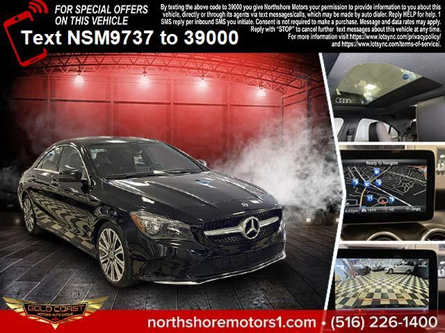 Used Mercedes-Benz CLA CLA 250 4MATIC Coupe 2018 | Sunrise Auto Outlet. Amityville, New York