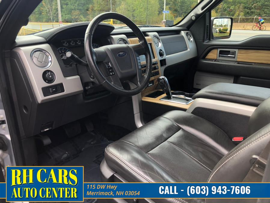 Used Ford F-150 SuperCrew Lariat 4WD 2011 | RH Cars LLC. Merrimack, New Hampshire