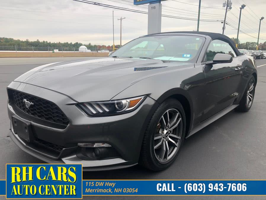 Used Ford Mustang EcoBoost Premium Convertible 2017 | RH Cars LLC. Merrimack, New Hampshire