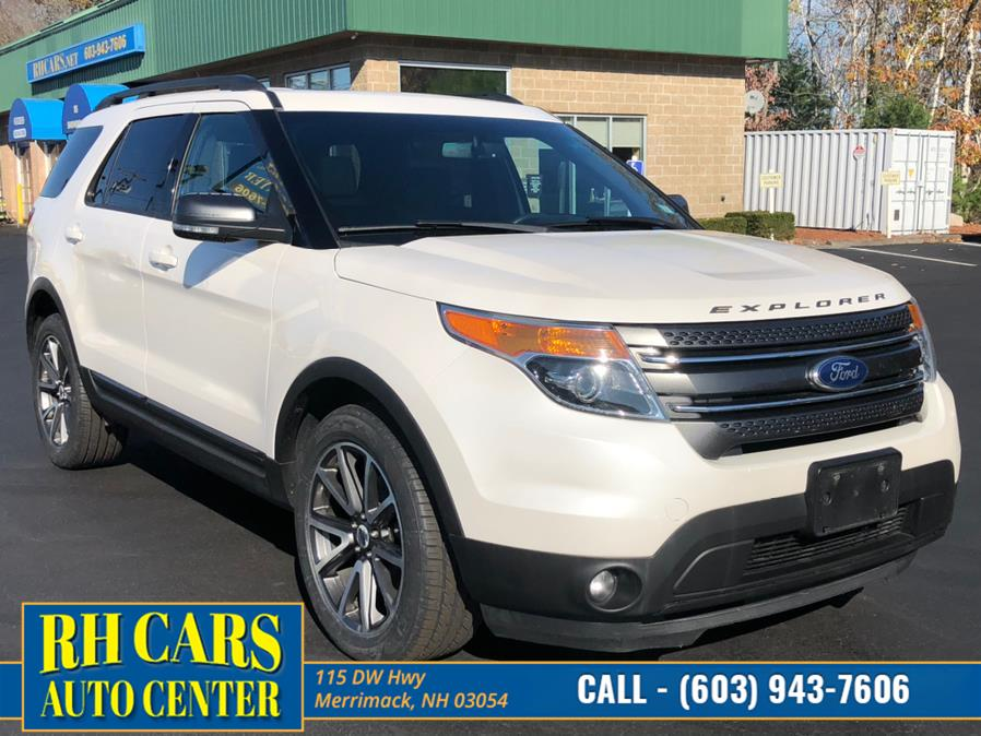 Used Ford Explorer XLT 4WD 2015 | RH Cars LLC. Merrimack, New Hampshire