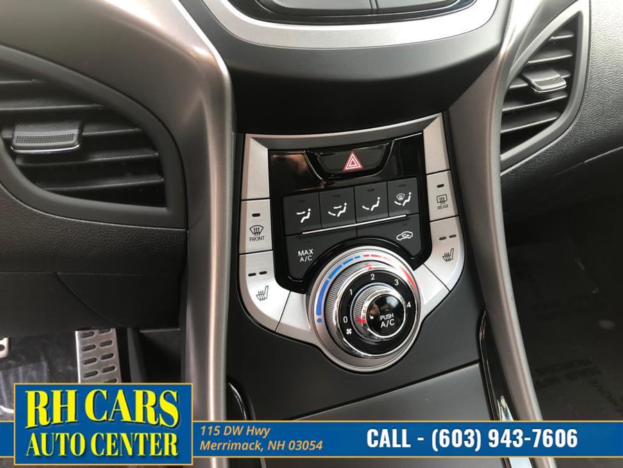 Used Hyundai Elantra Coupe SE 2013 | RH Cars LLC. Merrimack, New Hampshire