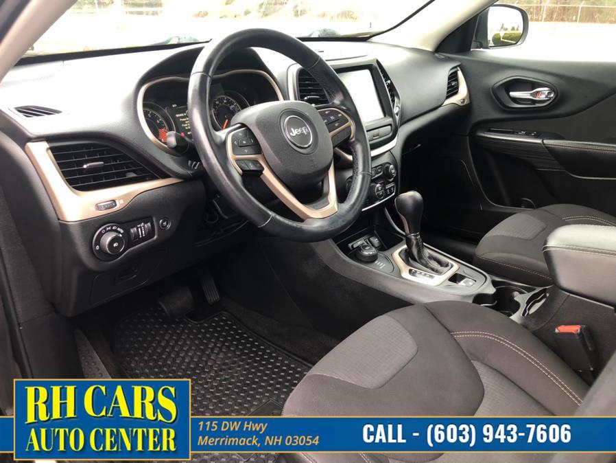 Used Jeep Cherokee Latitude 4WD 2015 | RH Cars LLC. Merrimack, New Hampshire