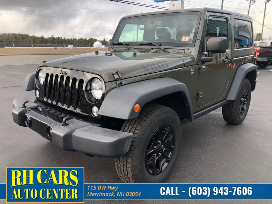 Used 2015 Jeep Wrangler in Merrimack, New Hampshire | RH Cars LLC. Merrimack, New Hampshire