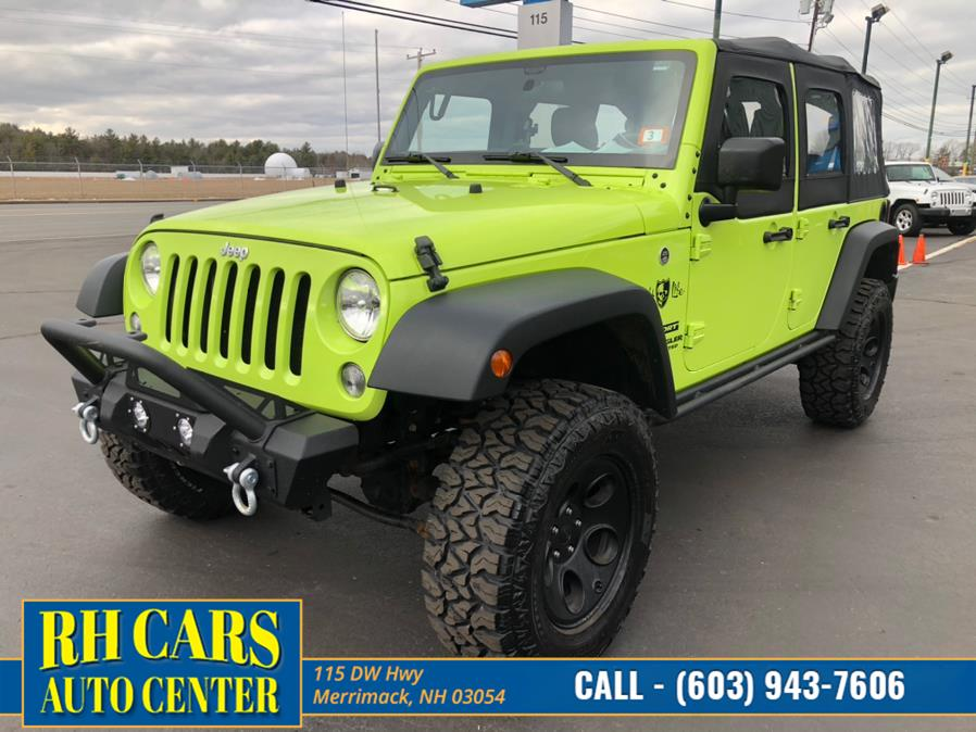 Used 2016 Jeep Wrangler Unlimited in Merrimack, New Hampshire | RH Cars LLC. Merrimack, New Hampshire