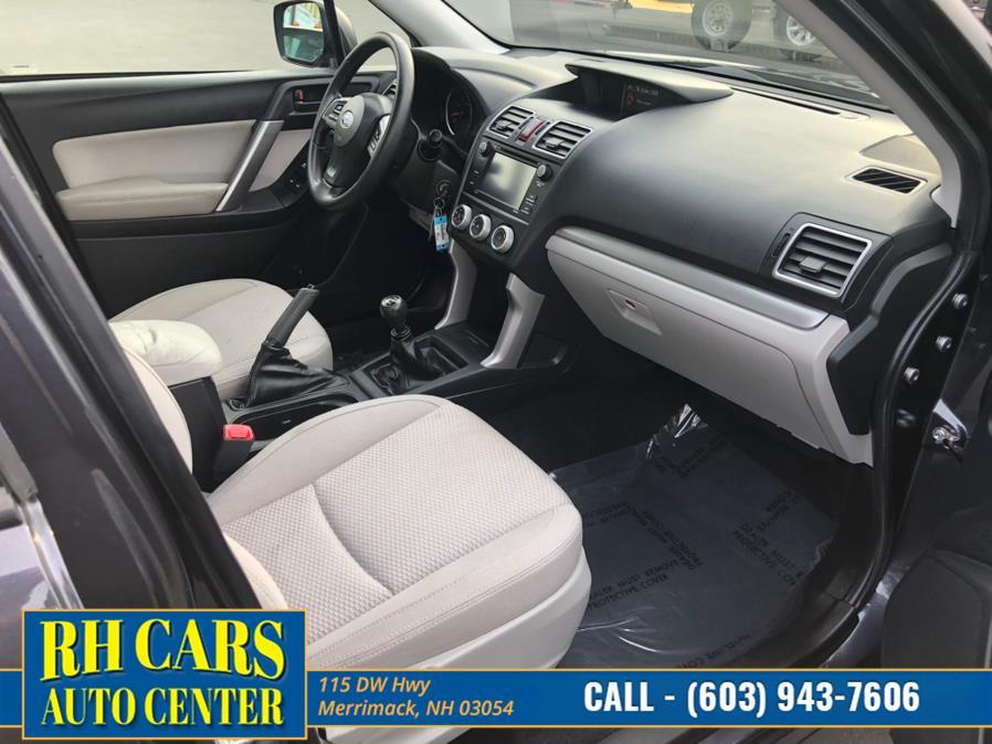 Used Subaru Forester 2.5i PZEV 2016   RH Cars LLC. Merrimack, New Hampshire