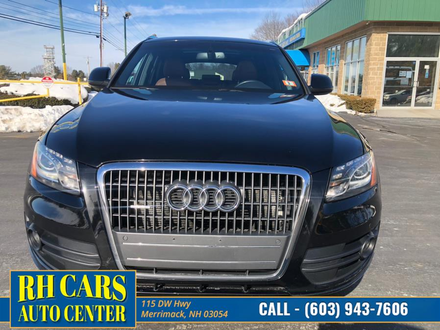 Used Audi Q5 2.0T Premium Plus quattro 2012 | RH Cars LLC. Merrimack, New Hampshire