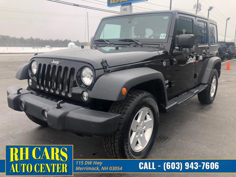 Used Jeep Wrangler Unlimited Sport 4x4 2017 | RH Cars LLC. Merrimack, New Hampshire