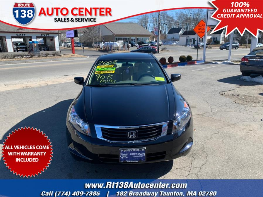 Used 2008 Honda Accord Sdn in Taunton, Massachusetts | Rt 138 Auto Center Inc . Taunton, Massachusetts