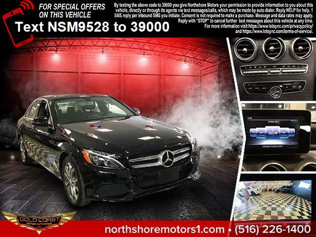 Used Mercedes-Benz C-Class C 300 4MATIC Sedan with Sport Pkg 2017 | Northshore Motors. Syosset , New York