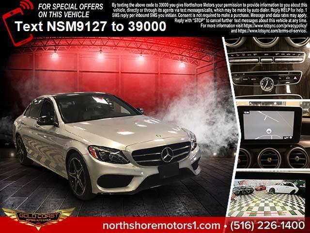 Used Mercedes-Benz C-Class C 300 4MATIC Sedan with Sport Pkg 2017 | Northshore Motors. Syosset , New York