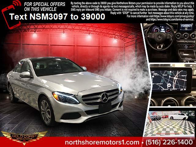 Used Mercedes-Benz C-Class C300 4MATIC Sedan with Sport Pkg 2017 | Northshore Motors. Syosset , New York