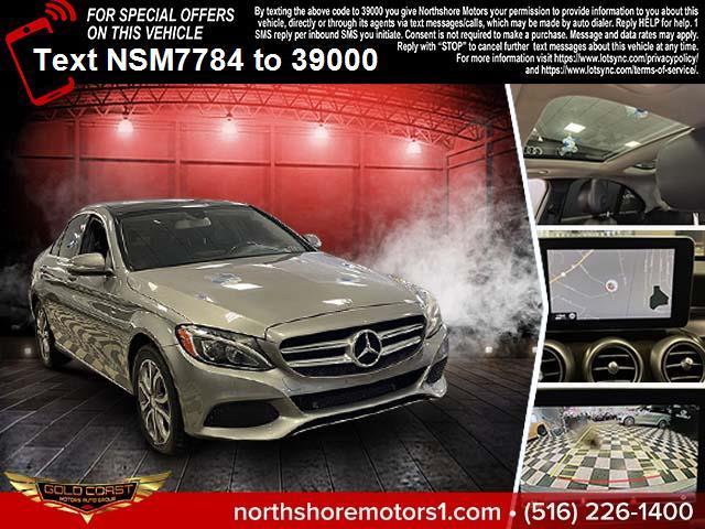 Used Mercedes-Benz C-Class 4dr Sdn C300 Sport 4MATIC 2015 | Northshore Motors. Syosset , New York