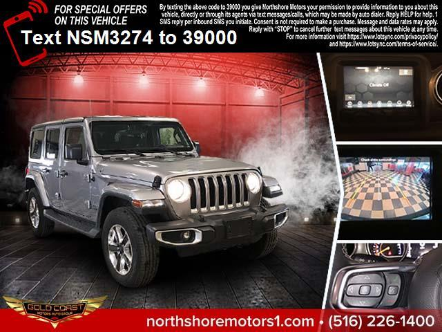Used Jeep Wrangler Unlimited Sahara Altitude 4x4 2019 | Sunrise Auto Outlet. Amityville, New York
