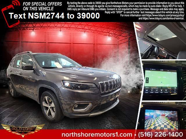 Used Jeep Cherokee Limited 4x4 2019   Sunrise Auto Outlet. Amityville, New York