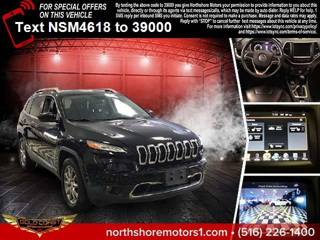 Used Jeep Cherokee Limited 4x4 2018 | Sunrise Auto Outlet. Amityville, New York
