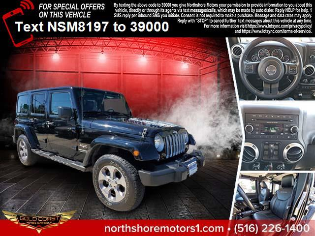 Used Jeep Wrangler Unlimited 4WD 4dr Sahara 2016 | Sunrise Auto Outlet. Amityville, New York