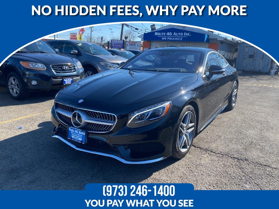 Used Mercedes-Benz S-Class 2dr Cpe S 550 4MATIC 2015 | Route 46 Auto Sales Inc. Lodi, New Jersey