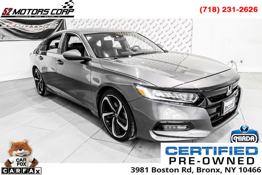 Used 2018 Honda Accord Sedan in Woodside, New York | 52Motors Corp. Woodside, New York
