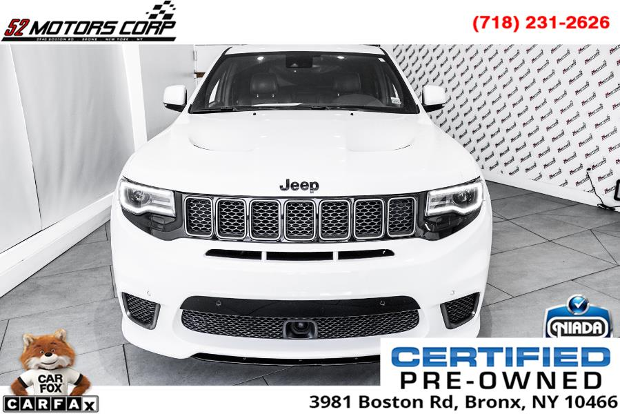 Used Jeep Grand Cherokee Trackhawk 4x4 *Ltd Avail* 2018 | 52Motors Corp. Woodside, New York