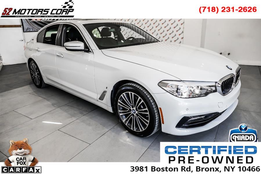 Used 2018 BMW 5 Series in Woodside, New York | 52Motors Corp. Woodside, New York