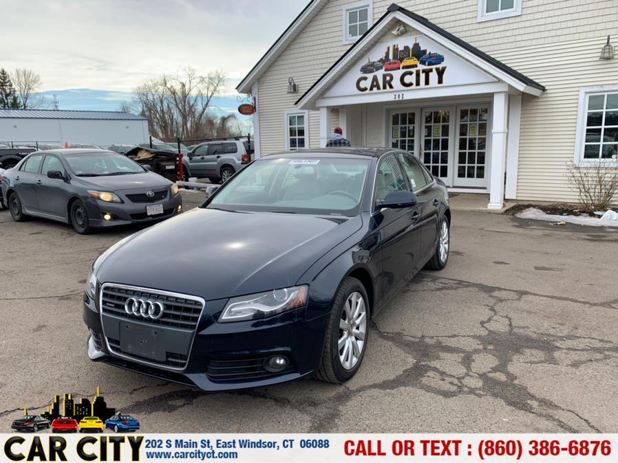 Used Audi A4 4dr Sdn Auto quattro 2.0T Premium  Plus 2010 | Car City LLC. East Windsor, Connecticut