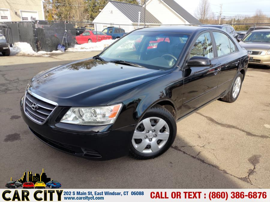 2010 Hyundai Sonata 4dr Sdn I4 Auto GLS, available for sale in East Windsor, CT