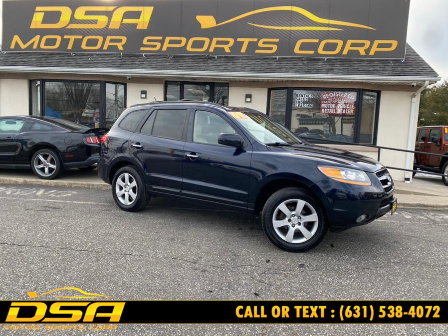 Used Hyundai Santa Fe AWD 4dr Auto Limited 2009 | DSA Motor Sports Corp. Commack, New York