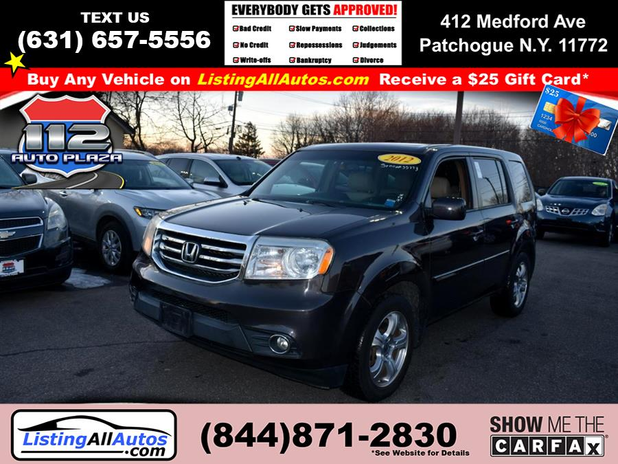 Used 2012 Honda Pilot in Patchogue, New York | www.ListingAllAutos.com. Patchogue, New York
