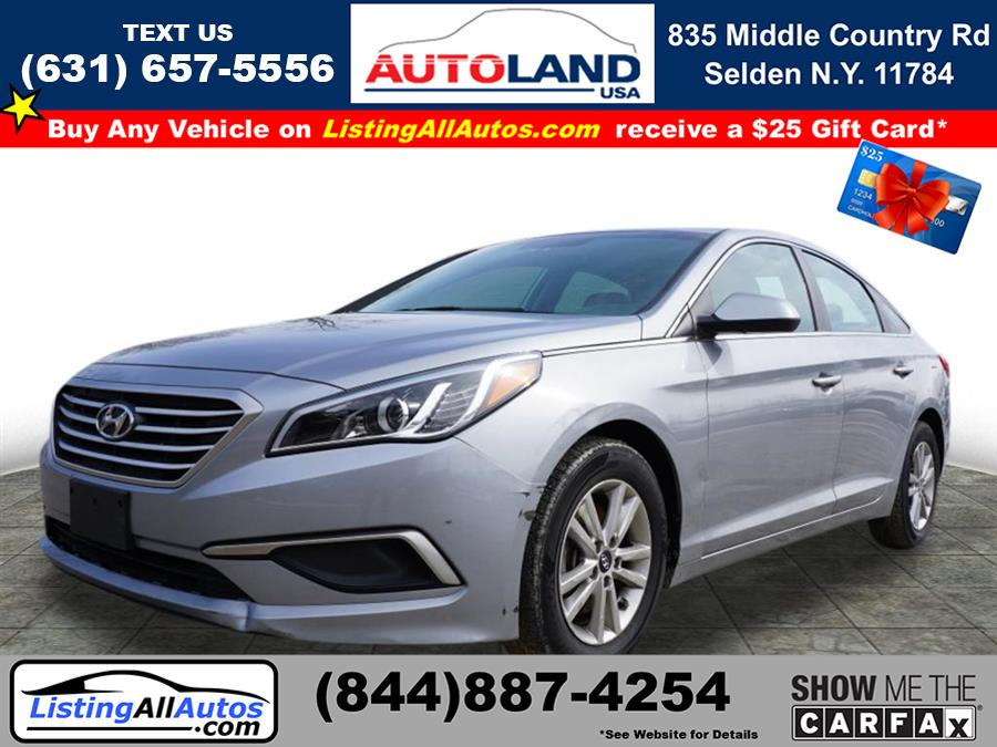 Used 2017 Hyundai Sonata in Patchogue, New York | www.ListingAllAutos.com. Patchogue, New York