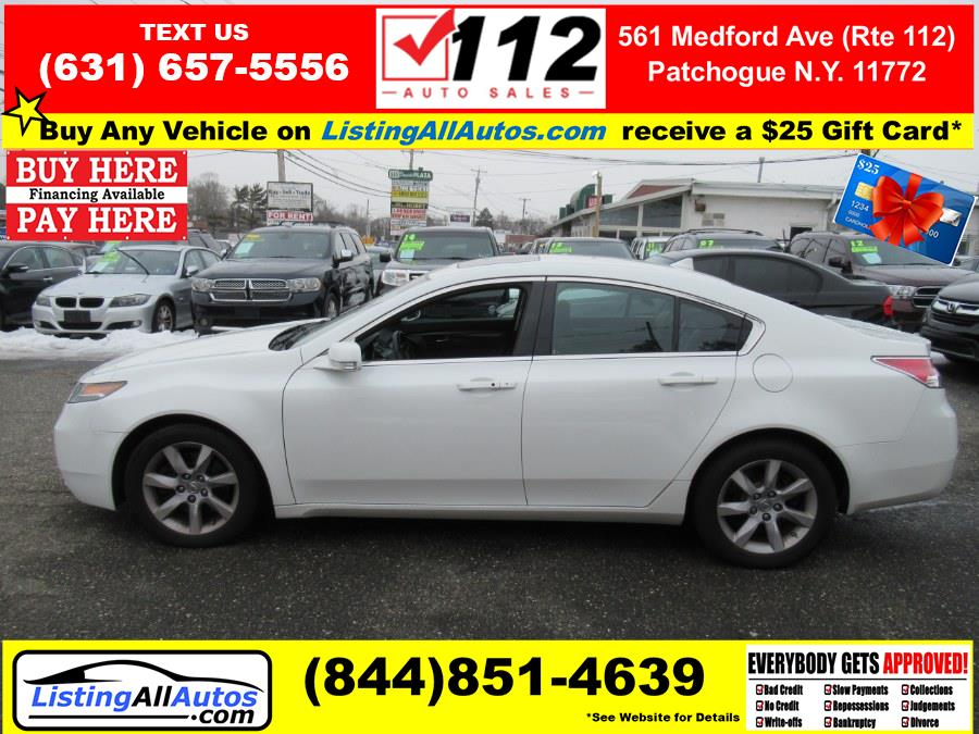 Used Acura TL 4dr Sdn Auto 2WD Tech 2013 | www.ListingAllAutos.com. Patchogue, New York