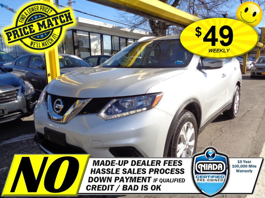 Used Nissan Rogue AWD 4dr S 2016 | Sunrise Auto Sales of Elmont. Elmont, New York