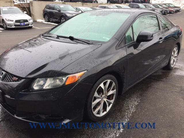 Used Honda Civic 2dr Man Si 2012 | J&M Automotive Sls&Svc LLC. Naugatuck, Connecticut