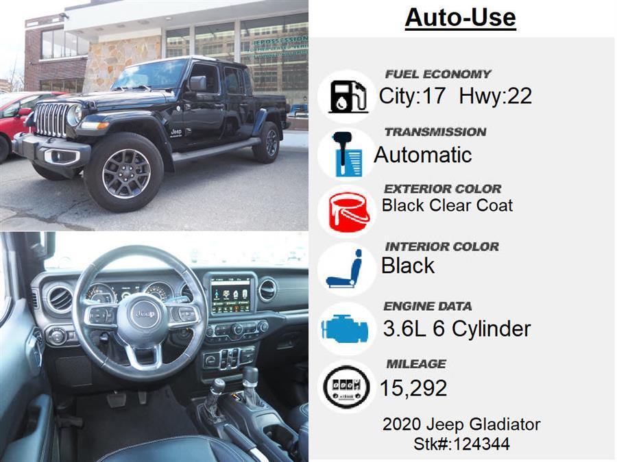 Used Jeep Gladiator Overland 2020 | Autouse. Andover, Massachusetts