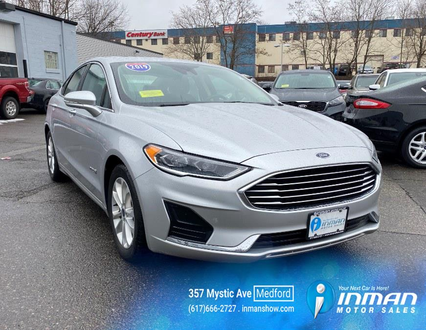 Used Ford Fusion Hybrid SEL FWD 2019 | Inman Motors Sales. Medford, Massachusetts