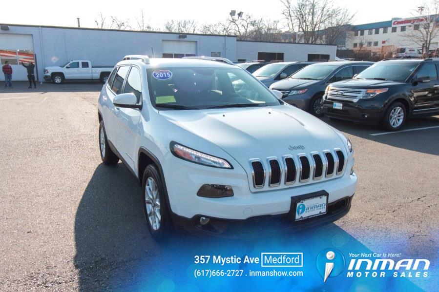 Used 2015 Jeep Cherokee in Medford, Massachusetts | Inman Motors Sales. Medford, Massachusetts