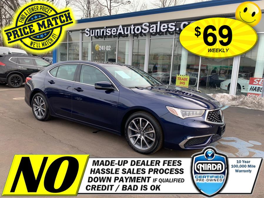 Used 2018 Acura TLX in Rosedale, New York | Sunrise Auto Sales. Rosedale, New York