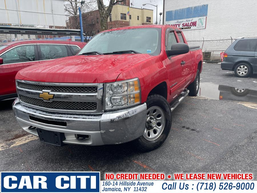 "Used Chevrolet Silverado 1500 4WD Ext Cab 143.5"" LT 2012 