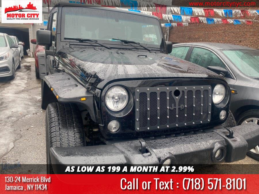 Used Jeep Wrangler Unlimited 4WD 4dr Sport 2015 | Motor City. Jamaica, New York