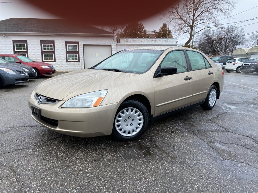 Used 2003 Honda Accord Sdn in Springfield, Massachusetts | Absolute Motors Inc. Springfield, Massachusetts